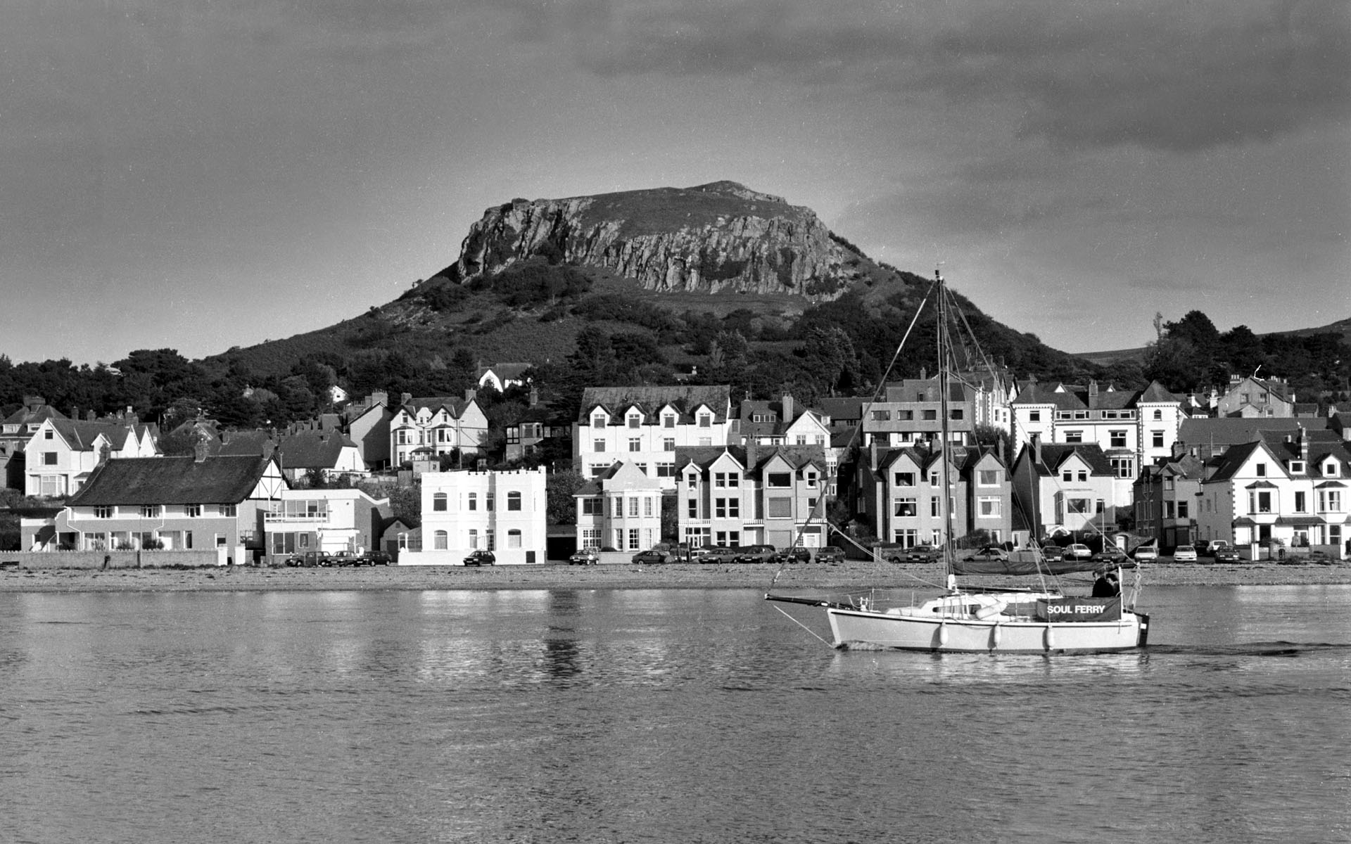Deganwy - scanned from 35mm negative